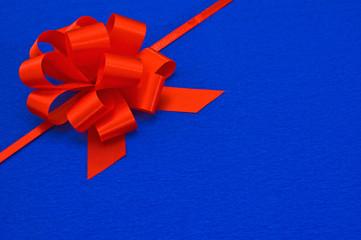 Gift red ribbon.