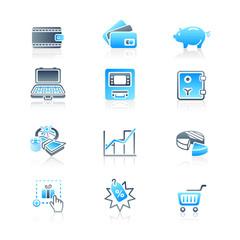 Money matters icons | MARINE series