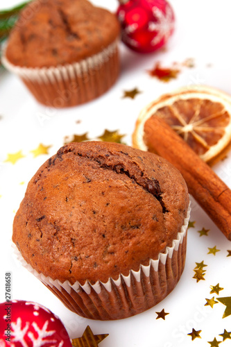 muffin muffins weihnachten zimtstangen stockfotos und. Black Bedroom Furniture Sets. Home Design Ideas