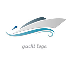 Logo yacht and  boat