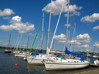 Bootshafen in Rostock