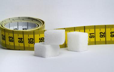 Zuckerwürfek mit Massband IV