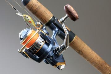Tuinposter Vissen Fishing Equipment