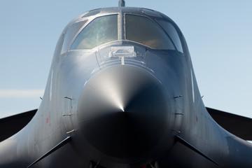 American B-1 Lancer Bomber Close Up