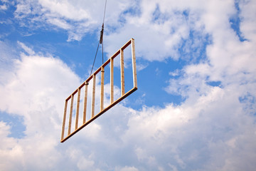 hanging construction part