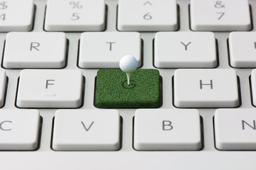 keyboard and Golf