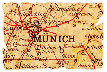 Munich old map
