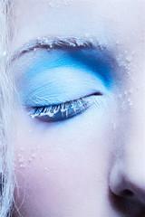 close-up of fantasy make-up