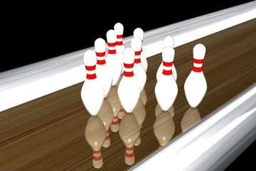 Kegelbahn,bowling