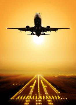 take-off runway