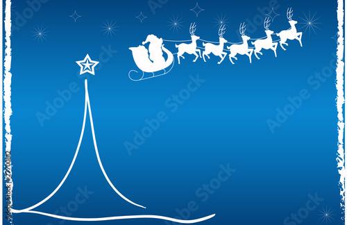 christmas xmas weihnachten blau weihnachtsmann weiss. Black Bedroom Furniture Sets. Home Design Ideas
