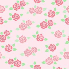 バラ背景 ピンク