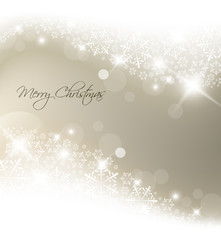 Light silver abstract Christmas background