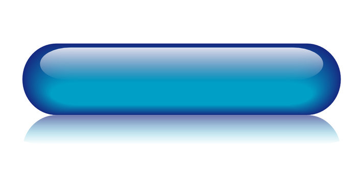 BLUE BUTTON (blue template web internet blank go click here)