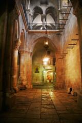 Holy Sepulcher Church interior.