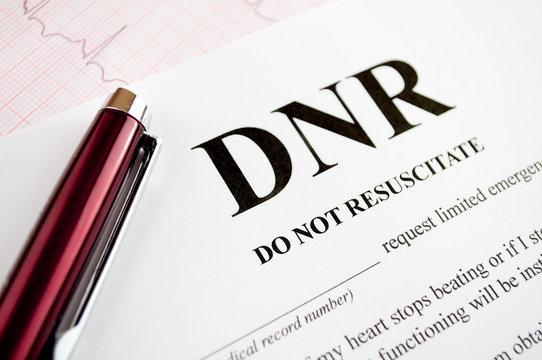 DNR Form