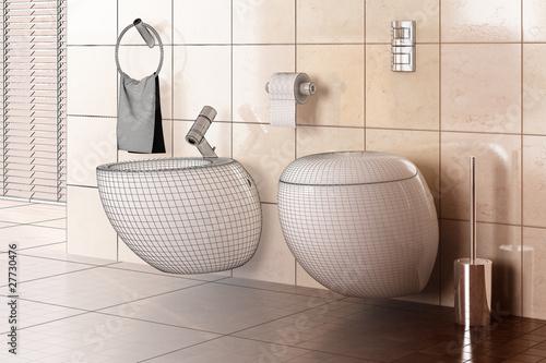 Toilette Design 3D\