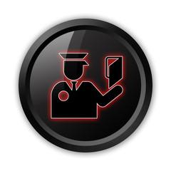 "Black Icon ""Immigration Symbol"""