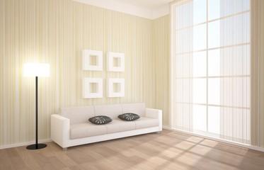 bright interior composition