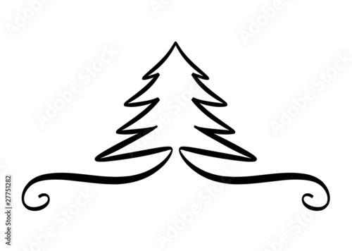 f r design logo etc weihnachtsbaum nadelbaum. Black Bedroom Furniture Sets. Home Design Ideas