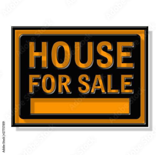 panneau maison vendre photo libre de droits sur la banque d 39 images image 27757819. Black Bedroom Furniture Sets. Home Design Ideas