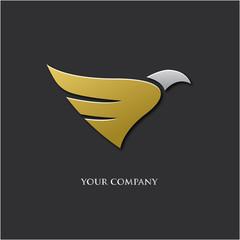 logo entreprise, aigle