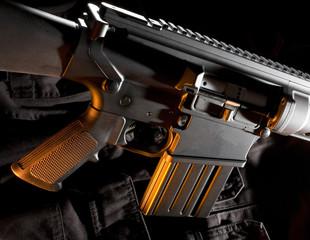 Semi automatic rifle