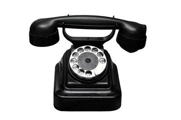 Ancient black phone