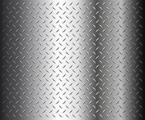 Metal diamond plate texture, vector.