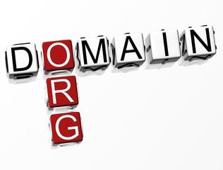 Org Domain Crossword