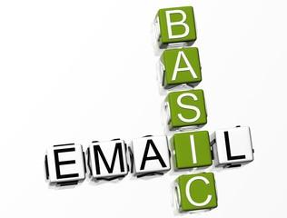 Basic Email Crossword