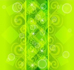 vector.  abstract striped  green background. eps10