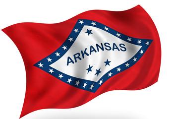 Arkansas (USA) flag