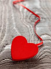 Herz mit Band