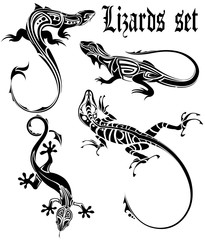 lizards set