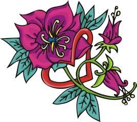 Hearts & Flowers .