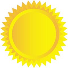 Sole vettoriale
