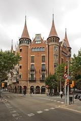Casa Terrades (Casa de les Punxes), Barcelona