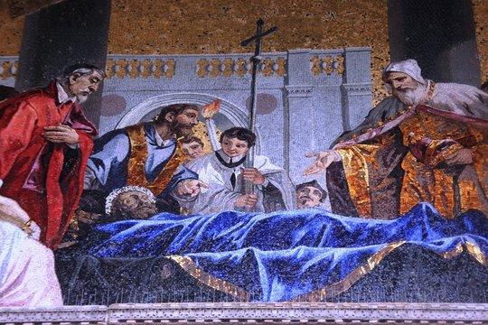 mosaïque de la basilique Saint Marc