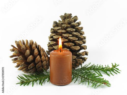 weihnachtliches motiv mit naturmaterialien stockfotos. Black Bedroom Furniture Sets. Home Design Ideas