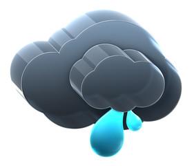 Cloud with light rain.
