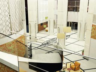 hotel albergo rendering