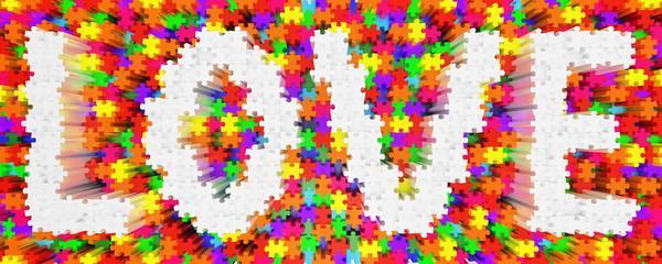 Love Puzzle bunt