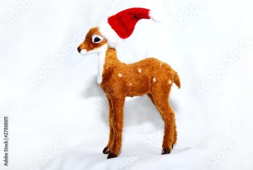 Weihnachts reh stockfotos und lizenzfreie bilder auf for Weihnachtsreh beleuchtet