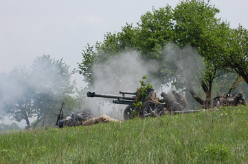 German cannon of WWII