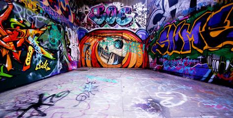 Foto auf Gartenposter Graffiti graffiti