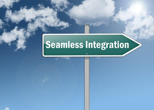 "Signpost ""Seamless Integration"""