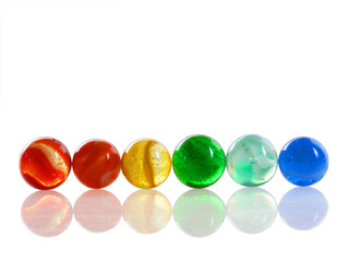 Multi-colored Marbles