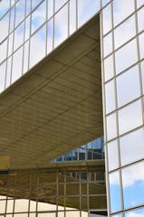 Détail d'immeuble moderne