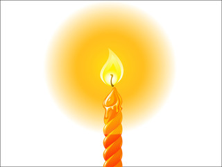 candle lite, vector